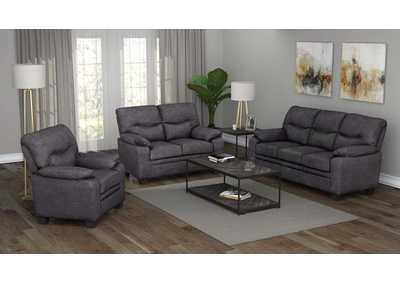 Meagan Charcoal Sofa