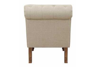 Oatmeal Brown Chair