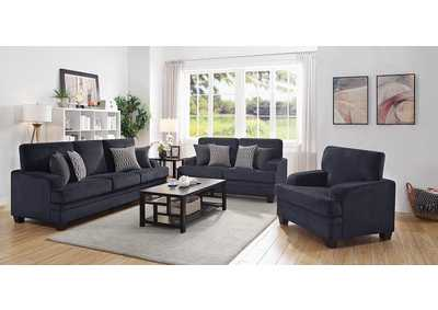 Stewart Grey Loveseat