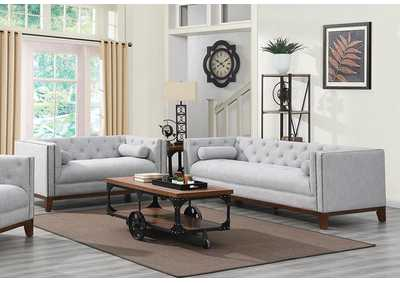 Celle Light Grey Sofa & Loveseat