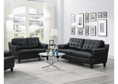 Freeport Black Sofa & Loveseat