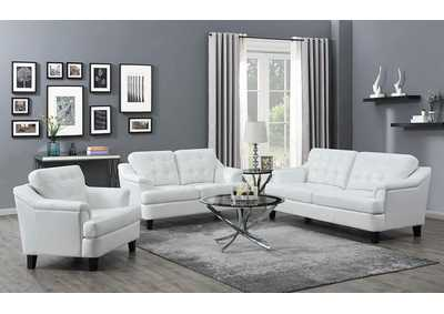 Freeport Snow White Sofa, Armchair, & Loveseat