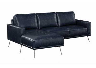 Narrot Navy Blue Sectional