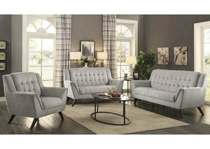 Baby Natalia Dove Grey Sofa and Loveseat