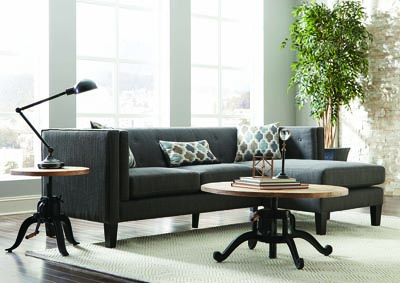 Dusty Blue Sectional