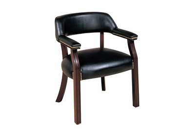 Image for Cinder Traditional Black Office Chair
