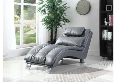 Dilleston Grey Chaise
