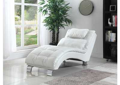 Dilleston White Chaise