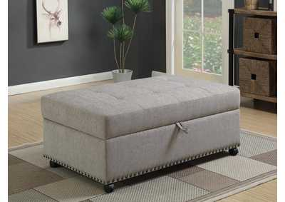 Oak Furniture Liquidators Dove Grey Sleeper Ottoman