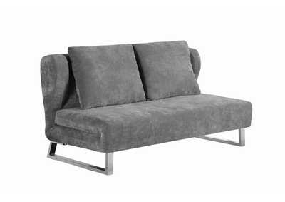 Image for Gray Transitional Grey Sofa Bed