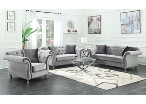 Chromed Loveseat