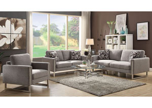 Grey Sofa & Loveseat