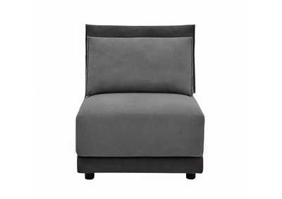 Seanna Two-Tone Grey Armless Chair,Coaster Furniture
