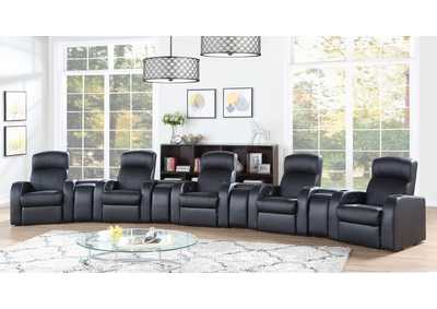 Cyrus Brown 9pcs 5-Seater Home Theater