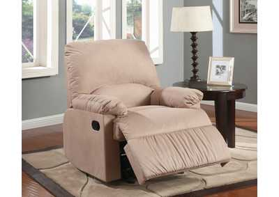 Brown Light Recliner