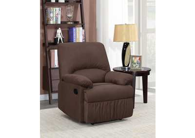 Image for Rangitoto Casual Chocolate Motion Recliner