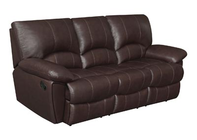 Image for Woody Brown Clifford Motion Dark Brown Sofa
