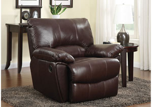 Brown Power Recliner