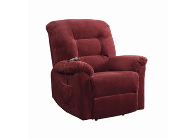 Image for Cedar Brick Red Power Lift Recliner