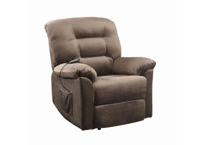 Taupe Casual Brown Sugar Power Lift Recliner