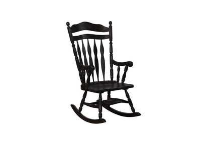 Windsor Black Rocking Chair