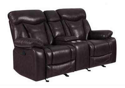 Image for Mine Shaft Zimmerman Casual Dark Brown Motion Loveseat