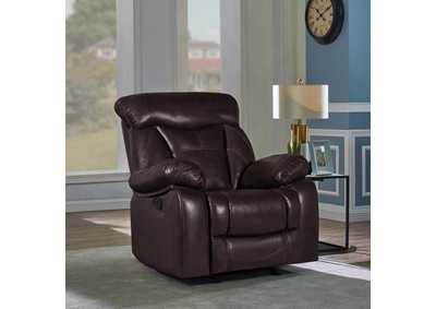 Zimmerman Dark Brown Power Recliner