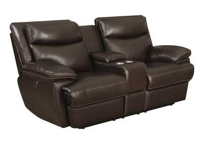 Image for Birch MacPherson Casual Motion Power Loveseat