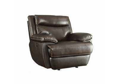 Image for Birch MacPherson Power Motion Brown Recliner