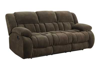 Image for Birch Weissman Brown Reclining Sofa