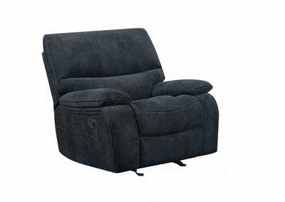 Navy Blue Glider Recliner