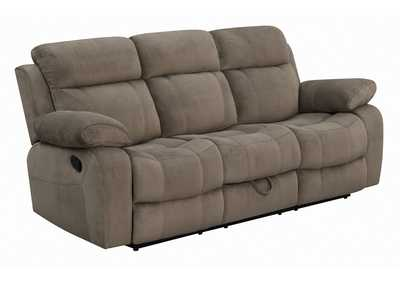 Coffee Myleene Brown Reclining Sofa
