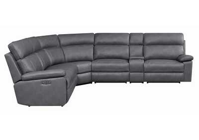 Albany Grey 6-Piece Power^2 Sectional