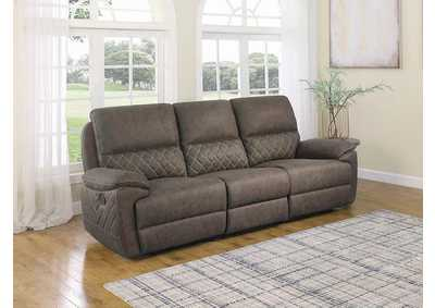 Variel Taupe 3 Pieces Motion Sofa