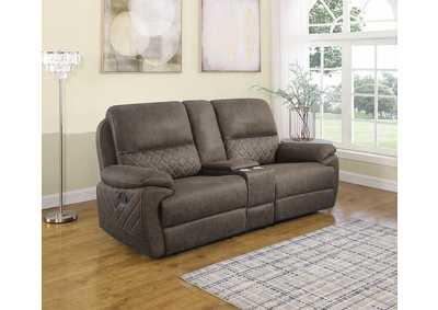 Variel Taupe 3 Pieces Motion Loveseat