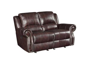 Tobacco Motion Loveseat