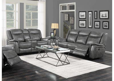 Conrad Grey Reclining Sofa