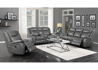 Conrad Grey Reclining Loveseat