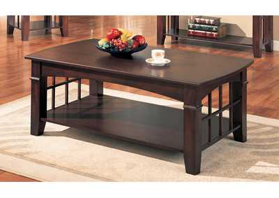 Abernathy Cherry Coffee Table
