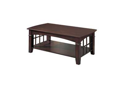 Image for Cherry Abernathy Cherry Rectangular Coffee Table