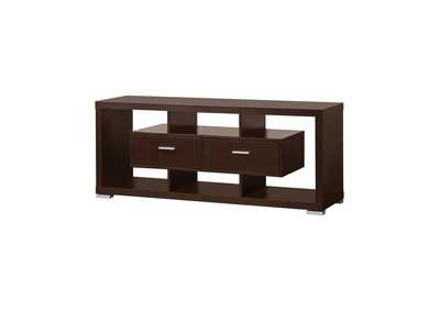 Image for Cappuccino Transitional Cappuccino TV Console