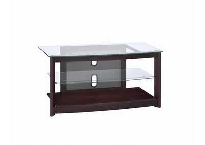 Image for Cocoa Brown Dark Brown TV Console