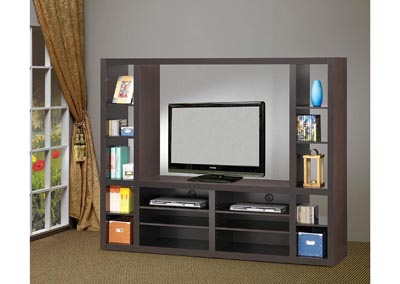 Cappuccino Entertainment Unit