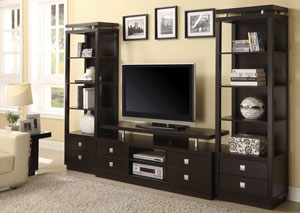 TV Stand w/2 Media Towers
