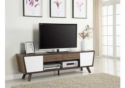 Dark Walnut TV Console