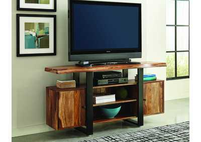 Natural/ Black Tv Stand