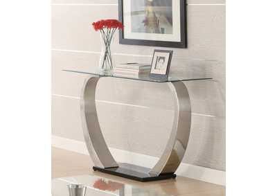 Satin Plated Sofa Table