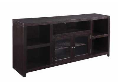 Dark Cappuccino 2 Door TV Console