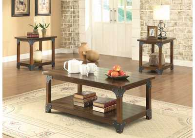 Image for Brown Craftsman Brown Three-Piece Occasional Set