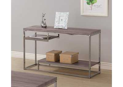 Dark Grey Sofa Table